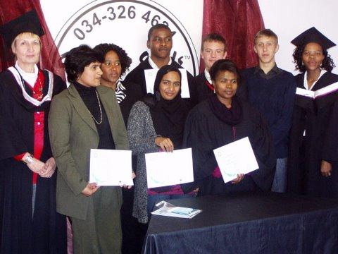 August 2010 graduates