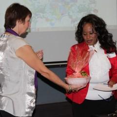24-Greta Bosiers presents Sibongile Masondo with her gift